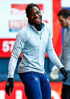 21st November 2020; Kenilworth Road, Luton, Bedfordshire, England; English Football League Championship Pelly Ruddock of Luton Town in warm up
