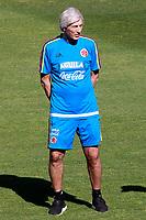 Colombia's coach Jose Nestor Perkerman during training session. June 6,2017.(ALTERPHOTOS/Acero) (NortePhoto.com) (NortePhoto.com)