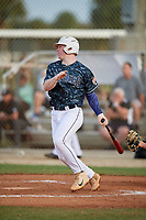 Jared Jones (40) during the WWBA World Championship at the Roger Dean Complex on October 11, 2019 in Jupiter, Florida.  Jared Jones attends Walton High School in Marietta, GA and is committed to Louisiana State.  (Mike Janes/Four Seam Images)