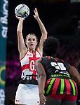 Fast5 2017<br /> Fast 5 Netball World Series<br /> Hisense Arena Melbourne<br /> Match <br /> England v Malawi<br /> Natalie Haythornthwaite<br /> <br /> <br /> <br /> Photo: Grant Treeby