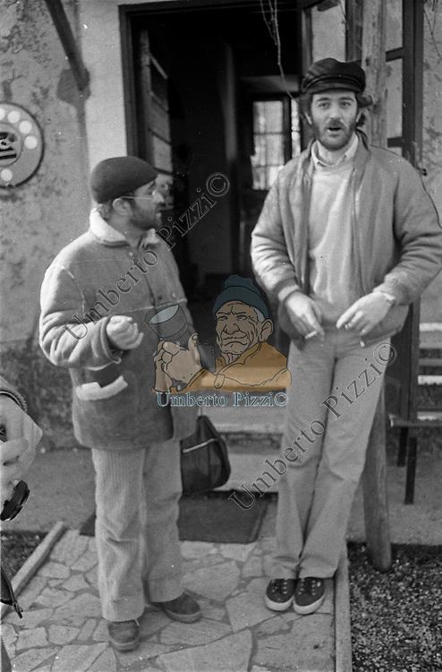 LUCIO DELLA E FRANCESCO DE GREGORI <br /> ROMA 1980