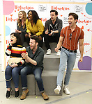 "Eden Espinosa, Nick Blaemire, Audrey Cardwell, Bryonha Marie Parham, Max von Essen and Nick Adams during the rehearsal performance of  ""Falsettos""  at the New Ripley Grier on January 25, 2019 in New York City."