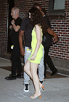 NEW YORK, NY- July 13: Lorde seen at The Late Show With Stephen Colbert in New York City on July 13, 2021. <br /> CAP/MPI/RW<br /> ©RW/MPI/Capital Pictures
