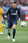 Atletico de Madrid's Yannick Carrasco during Champions League 2015/2016 Quarter-Finals 2nd leg match. April 13,2016. (ALTERPHOTOS/Acero)