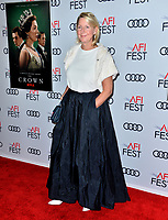 """LOS ANGELES, USA. November 17, 2019: Suzanne Mackie at the gala screening for """"The Crown"""" as part of the AFI Fest 2019 at the TCL Chinese Theatre.<br /> Picture: Paul Smith/Featureflash"""