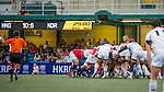 Hong Kong plays South Korea during the ARFU Asian Five Nations 2014 on May 10, 2014 at the Hong Kong Football Club in Hong Kong, China. Photo by Chung Yan / Power Sport Images