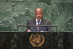General Assembly Seventy-third session, 14th plenary meeting<br /> <br /> <br /> His Excellency Osman Mohammed SALEH Minister for Foreign Affairs of the State of Eritrea