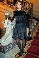 Marisa Berenson - Gala de Charite (ONLUS) .Parigi 19/11/2012.Cercle De L'Union Interallie.Gala organizzato dalla Onlus The Children for Peace.Foto Stephane Allaman / Panoramic / Insidefoto.ITALY ONLY