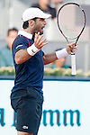 Pablo Andujar during Madrid Open Tennis 2015 match.May, 5, 2015.(ALTERPHOTOS/Acero)