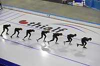 SCHAATSEN: HEERENVEEN: 21-06-2021, IJsstadion Thialf, ZOMERIJS, Topsporttraining, ©foto Martin de Jong