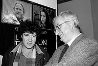 Photo d'archive - Robert Charlebois ,   dans les annee 80.<br /> <br /> PHOTO :  Agence Quebec Presse <br /> <br /> <br /> <br /> <br /> PHOTO :   Agence Quebec Presse