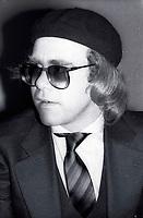 1978 FILE PHOTO<br /> New York City<br /> Elton John at Studio 54<br /> Photo by Adam Scull-PHOTOlink.net