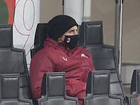 Milano  05-12-2020<br /> Stadio Giuseppe Meazza<br /> Campionato Serie A Tim 2020/21<br /> Milan - parma<br /> nella foto: Zlatan Ibraimovic                                                         <br /> Antonio Saia Kines Milano