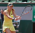 Julia Georges (GER) defeats Caroline Wozniacki (DEN) 6-4, 6-5