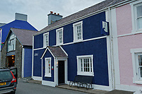 3 Pen Cei Bed and Breakfast on Quay Parade in Aberaeron, Ceredigion, Wales, UK. Wednesday 21 March 2018