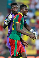 Cameroon's Andre Onana (l) and Jonathan Ngwem during international friendly match. June 13,2017.(ALTERPHOTOS/Acero) (NortePhoto.com) (NortePhoto.com)
