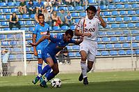 Francisco Copado (Hoffenheim) gegen Mehmet Topal (Galatasaray)<br /> TSG 1899 Hoffenheim vs. Galatasaray Istanbul, Carl-Benz Stadion Mannheim<br /> *** Local Caption *** Foto ist honorarpflichtig! zzgl. gesetzl. MwSt. Auf Anfrage in hoeherer Qualitaet/Aufloesung. Belegexemplar an: Marc Schueler, Am Ziegelfalltor 4, 64625 Bensheim, Tel. +49 (0) 6251 86 96 134, www.gameday-mediaservices.de. Email: marc.schueler@gameday-mediaservices.de, Bankverbindung: Volksbank Bergstrasse, Kto.: 151297, BLZ: 50960101