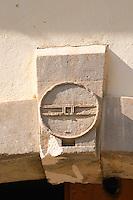 Domaine Borie la Vitarèle Causses et Veyran St Chinian. Languedoc. Barrel cellar. The winery building. France. Europe.