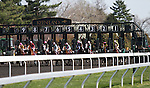 April 13, 2014: Start of the 6th race at Keeneland Racecourse.  Candice Chavez/ESW/CSM