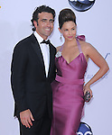 Ashley Judd and Dario Franchitti at The 64th Anual Primetime Emmy Awards held at Nokia Theatre L.A. Live in Los Angeles, California on September  23,2012                                                                   Copyright 2012 Hollywood Press Agency