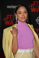 """Tessa Thompson at the world premiere for """"Star Wars: The Last Jedi"""" at the Shrine Auditorium. Los Angeles, USA 09 December  2017<br /> Picture: Paul Smith/Featureflash/SilverHub 0208 004 5359 sales@silverhubmedia.com"""