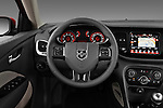 Steering wheel photo of a 2013 Dodge Dart Rallye sedan