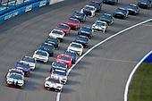 #10: Ross Chastain, Kaulig Racing, Chevrolet Camaro Dyna-Gro Seed and #19: Brandon Jones, Joe Gibbs Racing, Toyota Supra Toyota Service Centers