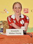 Elisabeth Walker-Young, Toronto 2015.<br /> Highlights from Canada's Closing Ceremonies flag bearer annoucement // Faits saillants de l'annonce du porte-drapeau des cérémonies de clôture du Canada. 15/08/2015.