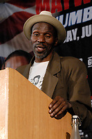 Roger Mayweather during a Press Conference at the Landmark Hotel on 21st May 2009