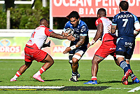 Joseva RAVOUVOU of Bayonne during the Top 14 Play-off rugby match between Biarritz and Bayonne at Parc des Sports Aguilera in Biarritz, France on Saturday, June 12, 2021. Photo by Alexandre Dimou / Icon Sport