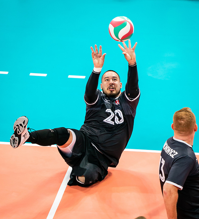Jesse Buckingham, Lima 2019 - Sitting Volleyball // Volleyball assis.<br />