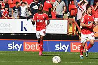 Jonathan Leko of Charlton pulls one back during Charlton Athletic vs Cheltenham Town, Sky Bet EFL League 1 Football at The Valley on 11th September 2021