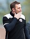 Stirling Albion manager Greig McDonald.