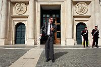 20211008 Giorgio Parisi entra alla Camera