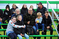 Fans at the Sentinel Homes Trans Tasman Series hockey match between the New Zealand Black Sticks Women and the Australian Hockeyroos at Massey University Hockey Turf in Palmerston North, New Zealand on Sunday, 30 May 2021 Photo: Dave Lintott / lintottphoto.co.nz