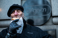 """03.02.2015 - """"Packed Lunch Protest"""" at Ofgem"""