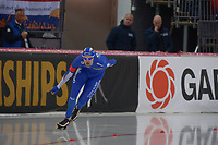 SPEEDSKATING: HAMAR: Vikingskipet, 29-02-2020, ISU World Speed Skating Championships, Allround, 5000m Men, Andrea Giovannini (ITA), ©photo Martin de Jong