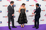 """Colin Firth, Renée Zellweger and Patrick Dempsey attends to the premiere of """"Bridget Jones, Baby"""" at Kinepolis in Madrid. September 09, Spain. 2016. (ALTERPHOTOS/BorjaB.Hojas)"""
