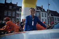 race organiser Leo Van Vliet at the start<br /> <br /> 50th Amstel Gold Race 2015