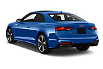 Car pictures of rear three quarter view of 2020 Audi A5-Coupe Premium-plus 2 Door Coupe Angular Rear