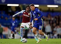22nd September 2021; Stamford Bridge, Chelsea, London, England; EFL Cup football, Chelsea versus Aston Villa; Ross Barkley of Chelsea