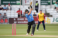 Luke Wright hits 4 runs for Sussex during Essex Eagles vs Sussex Sharks, Vitality Blast T20 Cricket at The Cloudfm County Ground on 15th June 2021