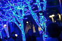 Shibuya Blue Grotto illuminations