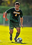 22 September 2008: University of Vermont Catamounts' forward Matt Hennessey, a Junior from Havertown, PA, in action against the Colgate University Raiders at Centennial Field, in Burlington, Vermont. The Raiders edged out the Catamounts 2-1, handing the Soccer Catamounts their first home loss of the 2008 season. ..Mandatory Photo Credit: Ed Wolfstein Photo