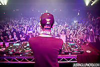 Live concert photo of Boys Noize @ Music Box (now Fonda Theater) in Hollywood by http://www.justingillphoto.com