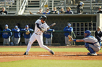 February 11, 2005:  First Baseman Whit Robbins (16) of the Georgia Tech Yellow Jackets during a game at Russ Chandler Stadium in Atlanta, GA.  Photo By David Stoner/Four Seam Images