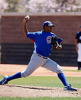 Larry Suarez    - Chicago Cubs - 2009 spring training.Photo by:  Bill Mitchell/Four Seam Images