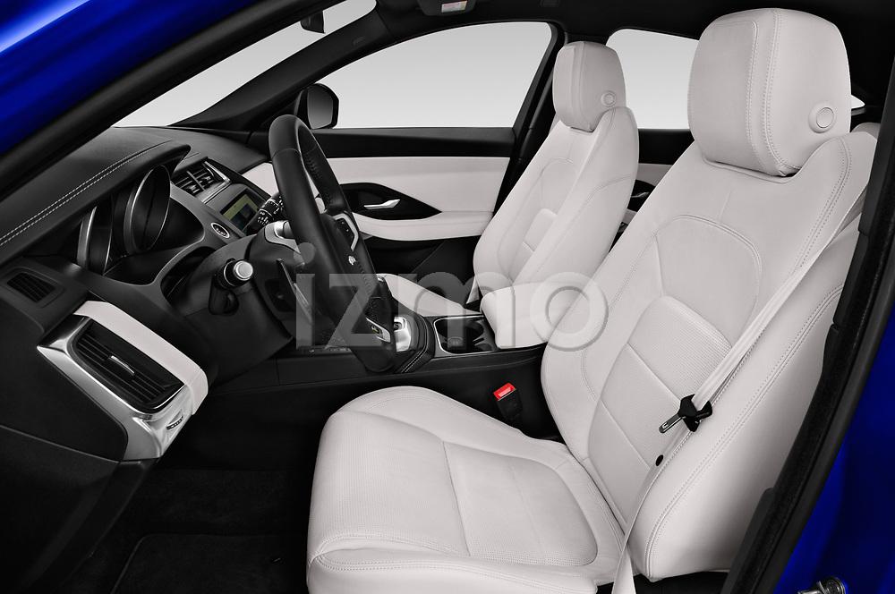 Front seat view of a 2018 Jaguar E Pace R Dynamic 5 Door SUV front seat car photos