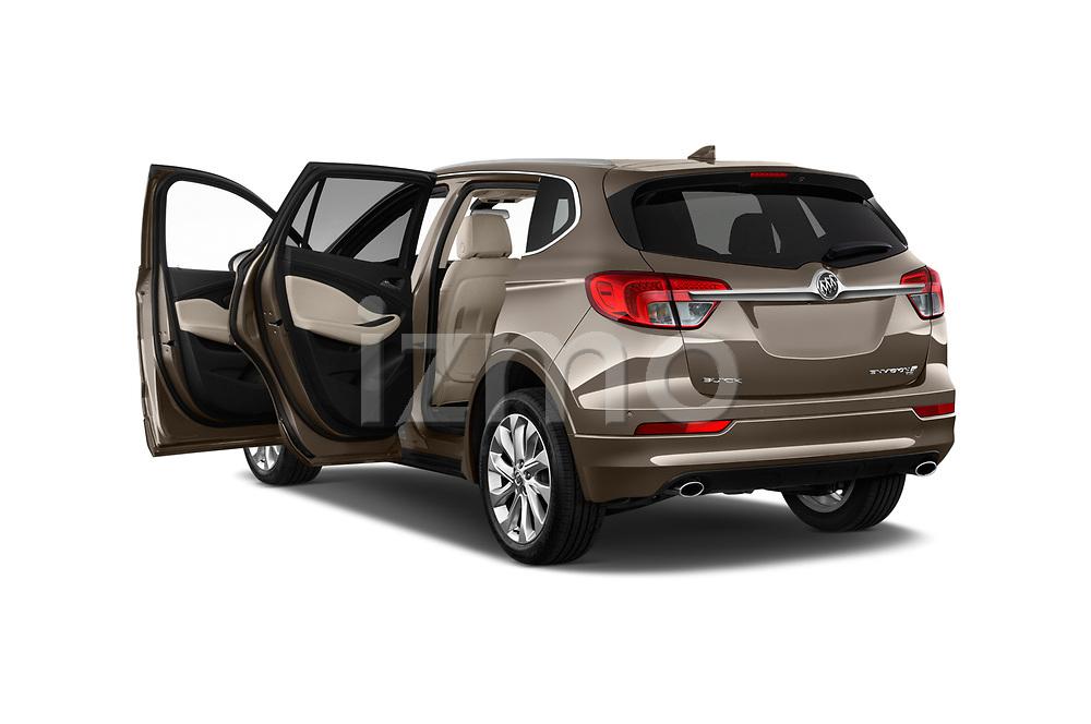 Car images of 2018 Buick Envision Premium-II-AWD 5 Door SUV Doors