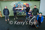 Mountain Biking Kerry are launching their #Buildthebikepark campaign and a petition on a project to build a bike park in Tralee asking everyone to sign the petition the link is on our website mtbky.ie Front l to r: Iseult Brick Dunne, Aunlan Dunne and Arthur Brick Dunne. Back l to r: Darragh Mulcahy, Padraig Brown and Graham Kelliher.